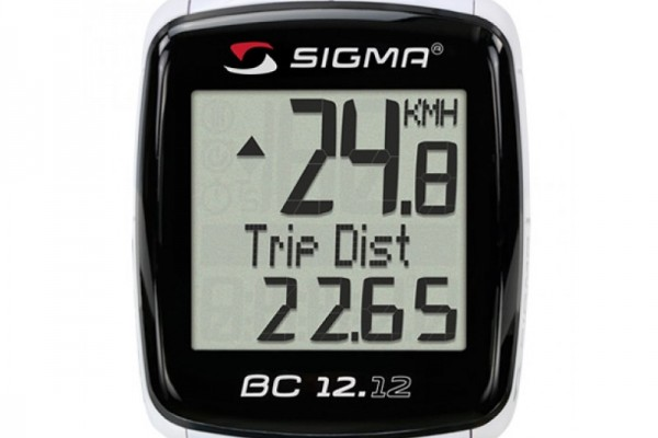 SIGMA BC 12.12 wired bike computer