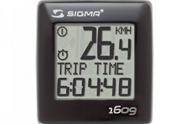 SIGMA BC 1609 wired bike computer