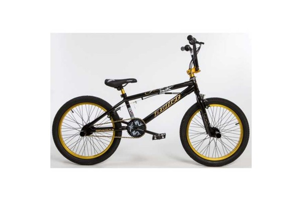 BULLET Bora BMX black-yellow