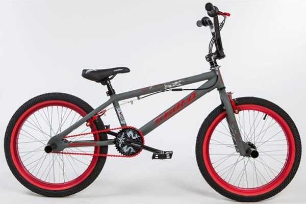 BULLET Bora BMX grey-red