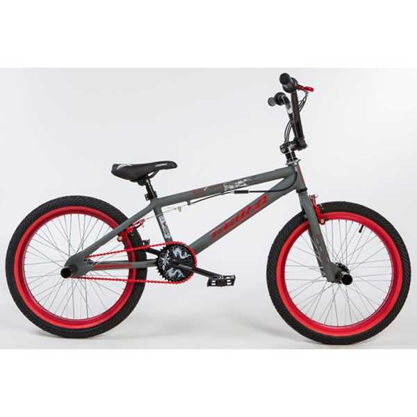 BULLET Bora BMX grey-red