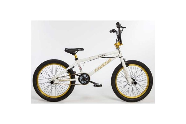 BULLET Bora BMX white-yellow
